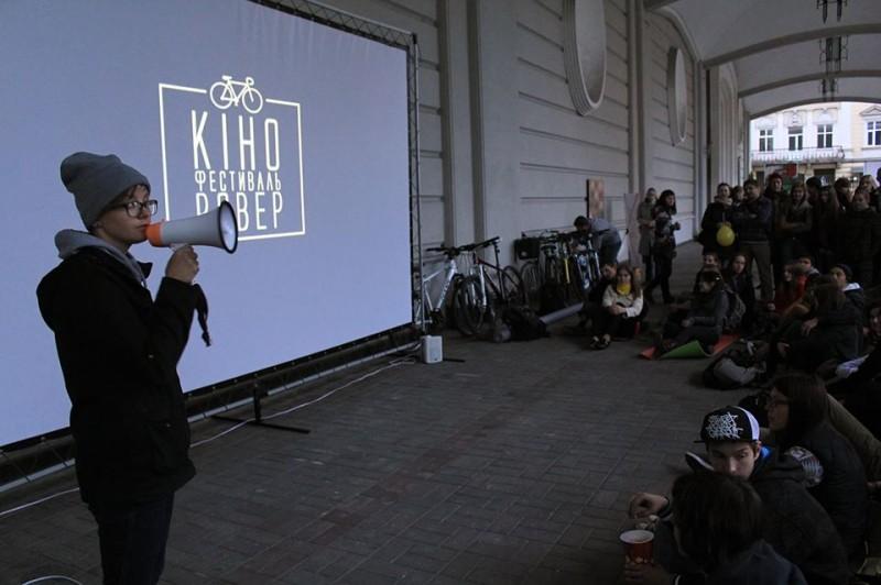 Одна з творців фестивалю - Оля Рейтер.