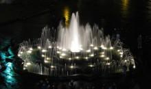 Новий фонтан перед львівською оперою